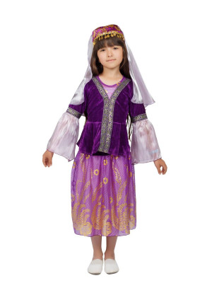 Азербайджанский костюм для девочки