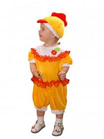 Костюм Цыпленка для девочки-малышки
