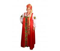 Русский национальный женский костюм