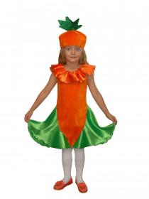 Костюм Морковки для девочки