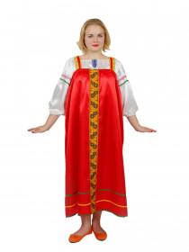 Женский русский сарафан