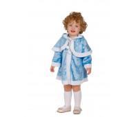 Костюм Снегурки -малышки в голубой шубке