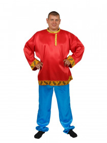 Мужская русская рубаха-косоворотка
