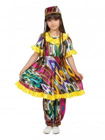 Узбекский костюм для девочки