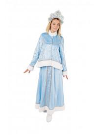 Взрослый костюм Снегурка