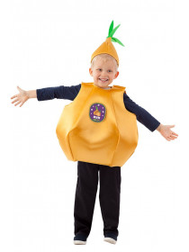 Костюм Лука (овощь) детский