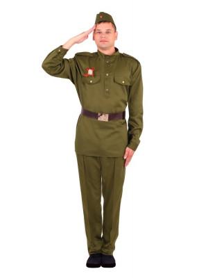 Взрослая военная форма (мужская)