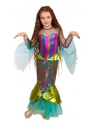 Детский костюм Русалочка Морская