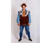 Взрослый костюм Бык Буян
