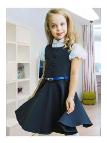 Сарафан для девочки в школу