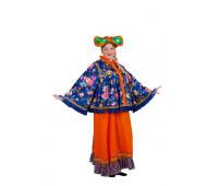 Русский национальный женский костюм для Масленицы
