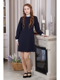Школьное классическое платье
