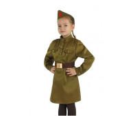 Военная форма ВОВ для девочки