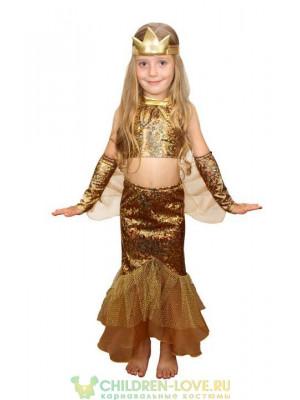 Костюм Рыбки для девочки 5- 9 лет